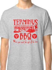 Terminus BBQ Funny Zombie Apocalypse Classic T-Shirt