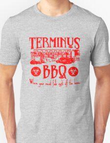 Terminus BBQ Funny Zombie Apocalypse T-Shirt