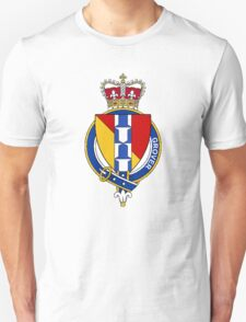 Coat of arms (family crest) for last-name or surname Grover (England) . Heraldry banner for your name. T-Shirt