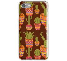 Mexican cactis iPhone Case/Skin