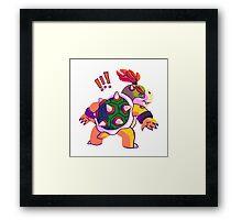Bowser Junior Framed Print