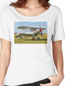 Hawker Fury I K5674 G-CBZP Women's Relaxed Fit T-Shirt