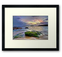 Congwong Bay Sunset Framed Print