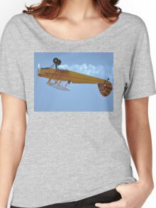 Hunter Valley Airshow 2015 - Stampe Inverted Flypast Women's Relaxed Fit T-Shirt