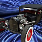 1929 Ford Fender Less Sedan Hot Rod by TeeMack