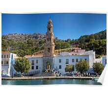 The Monastery on Symi Poster