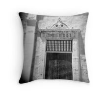 Shrouded building, South Pasadena, CA July 2010 Throw Pillow