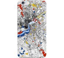 Philadelphia Mondrian map iPhone Case/Skin