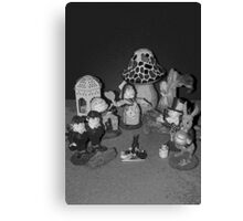 Looking Glass Figures Canvas Print