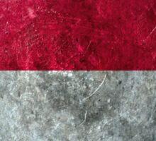 Indonesia Grunge Sticker
