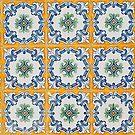 Portuguese glazed tiles by homydesign