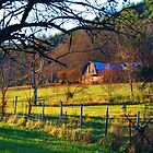 Another Barn on Wolffork Church Road by Chelei