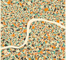LONDON MAP by JazzberryBlue