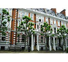 London Flat Facade Photographic Print