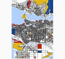 Vancouver Mondrian map Unisex T-Shirt