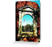 Standing Wall Greeting Card