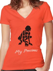 My Precious Women's Fitted V-Neck T-Shirt