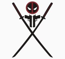 Deadpool - Weapons Kids Clothes