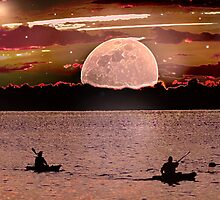 Moonlight row by TomSpencer
