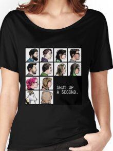 New Shut up a Second Logo Women's Relaxed Fit T-Shirt