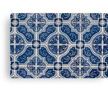 Portuguese glazed tiles Canvas Print