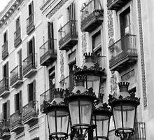 Streets of Barcelona  by Andrea Mazzocchetti
