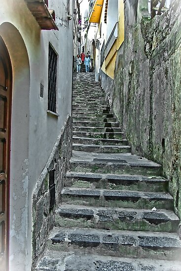 ... up ... and down .. ! :)  Positano, Amalfi Coast, Italy by Rachel Veser