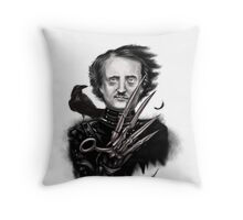 Edward Allan Poe Throw Pillow