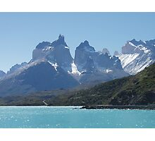 Torres del Paine Across Lake Pehoe (Chile) Photographic Print