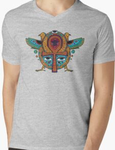 Ankh Mens V-Neck T-Shirt