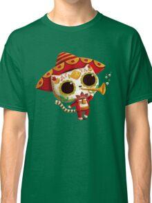 The Day of the Dead Cute Cat El Mariachi Classic T-Shirt