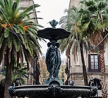 Barcelona - Plaza Real  by Andrea Mazzocchetti
