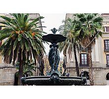 Barcelona - Plaza Real  Photographic Print