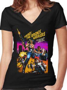 Bronx Warriors Women's Fitted V-Neck T-Shirt