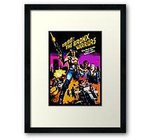 Bronx Warriors Framed Print