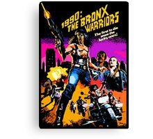 Bronx Warriors Canvas Print