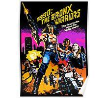 Bronx Warriors Poster