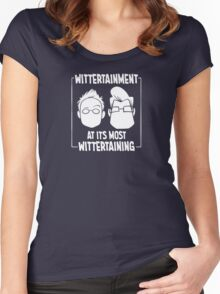 Wittertainment at its most Wittertaining Women's Fitted Scoop T-Shirt