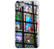 Stained glass Madonna iPhone Case/Skin
