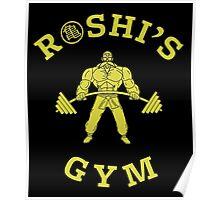 Roshi's Gym   Dragon Ball Poster