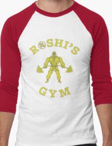 Roshi's Gym   Dragon Ball Men's Baseball ¾ T-Shirt