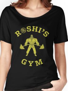 Roshi's Gym | Dragon Ball Women's Relaxed Fit T-Shirt