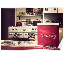 Snack Time Poster