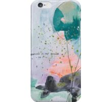 Dreaming is not enough do it  iPhone Case/Skin