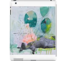 Dreaming is not enough do it  iPad Case/Skin