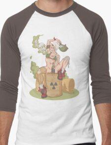 Tank Girl smells like toxic waste Men's Baseball ¾ T-Shirt