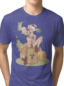 Tank Girl smells like toxic waste Tri-blend T-Shirt