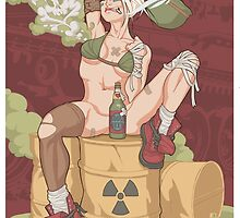Tank Girl smells like toxic waste by Non Vale  Art