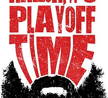 Lose The Razor It's Playoff Time, Playoff Beards by gamefacegear