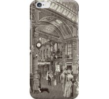 The Arcade (Monochrome) iPhone Case/Skin